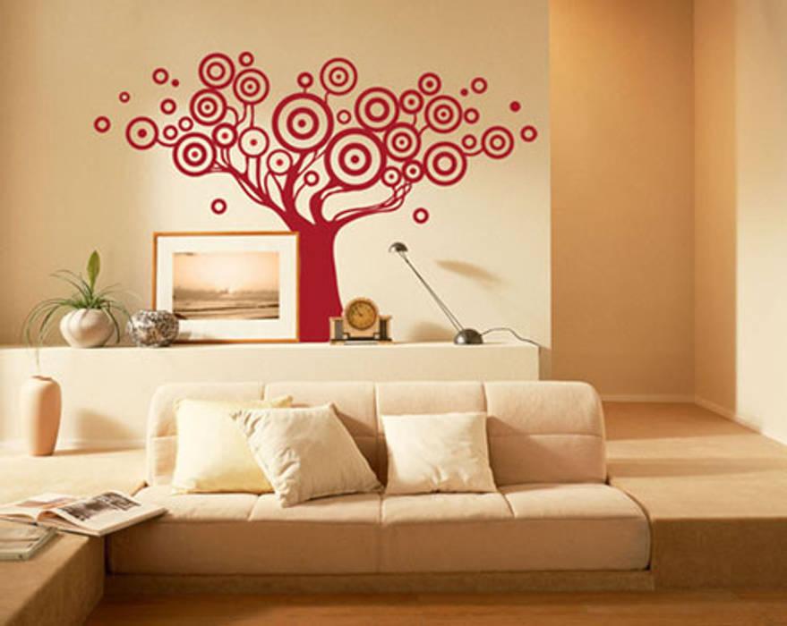 Wall stickers adesivi per pareti in stile di decoramo for Stickers pareti