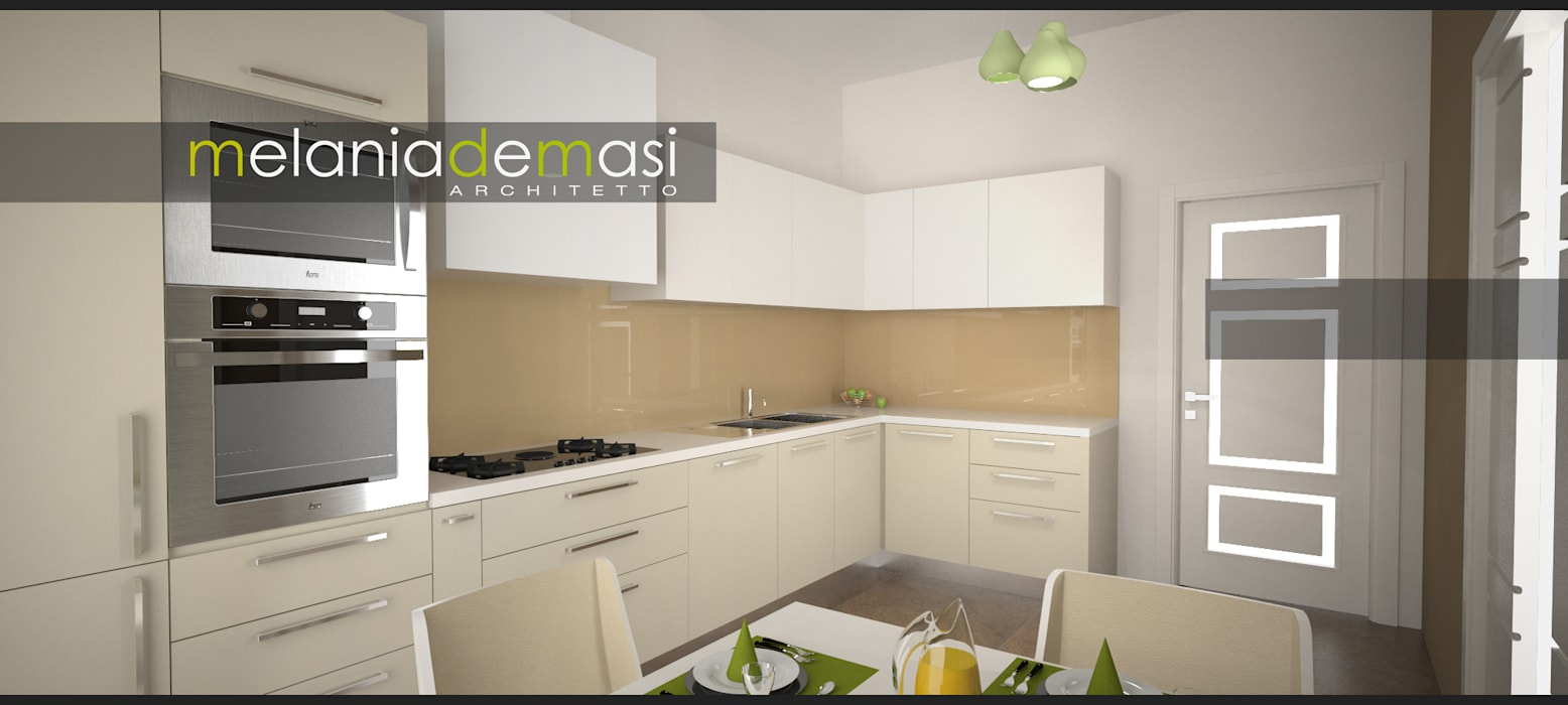 Cocinas de estilo  de melania de masi architetto,