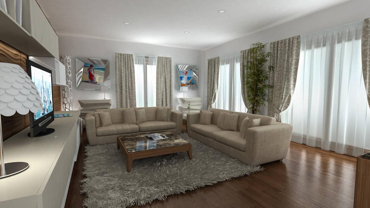 villa Dodi Sistiana: Case in stile  di studiosagitair