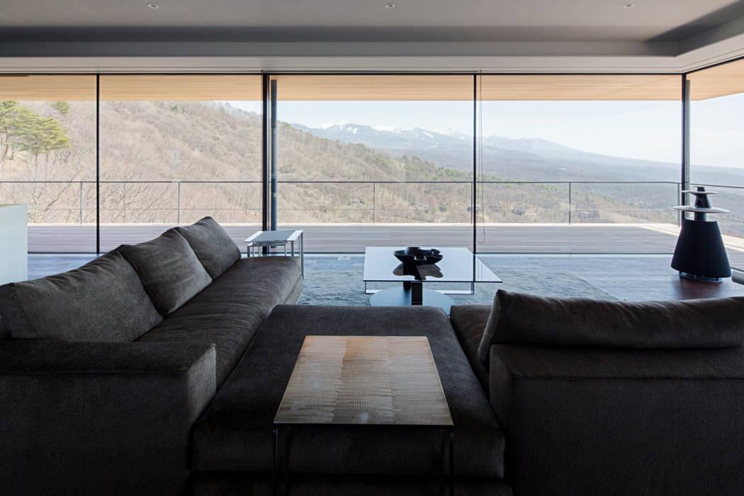 リビング: 城戸崎建築研究室 / KIDOSAKI ARCHITECTS STUDIOが手掛けた家です。