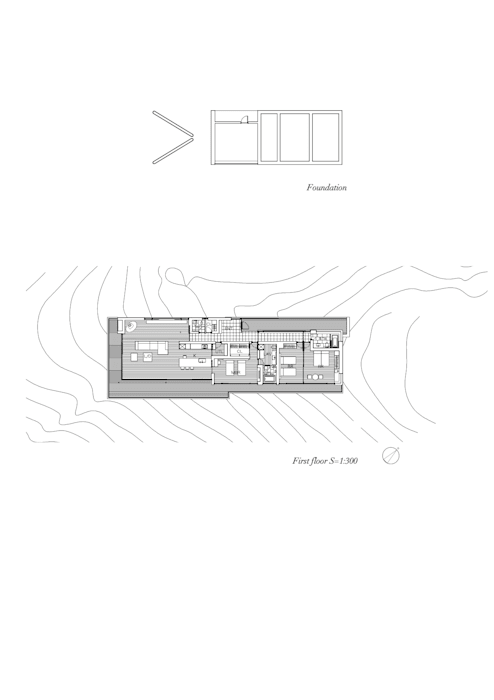 Plan モダンな 家 の 城戸崎建築研究室 / KIDOSAKI ARCHITECTS STUDIO モダン