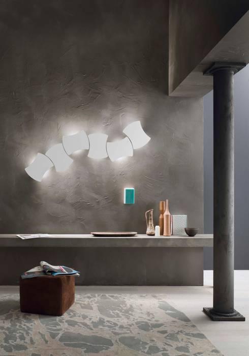 غرفة المعيشة تنفيذ Lucente by Gruppo Rostirolla