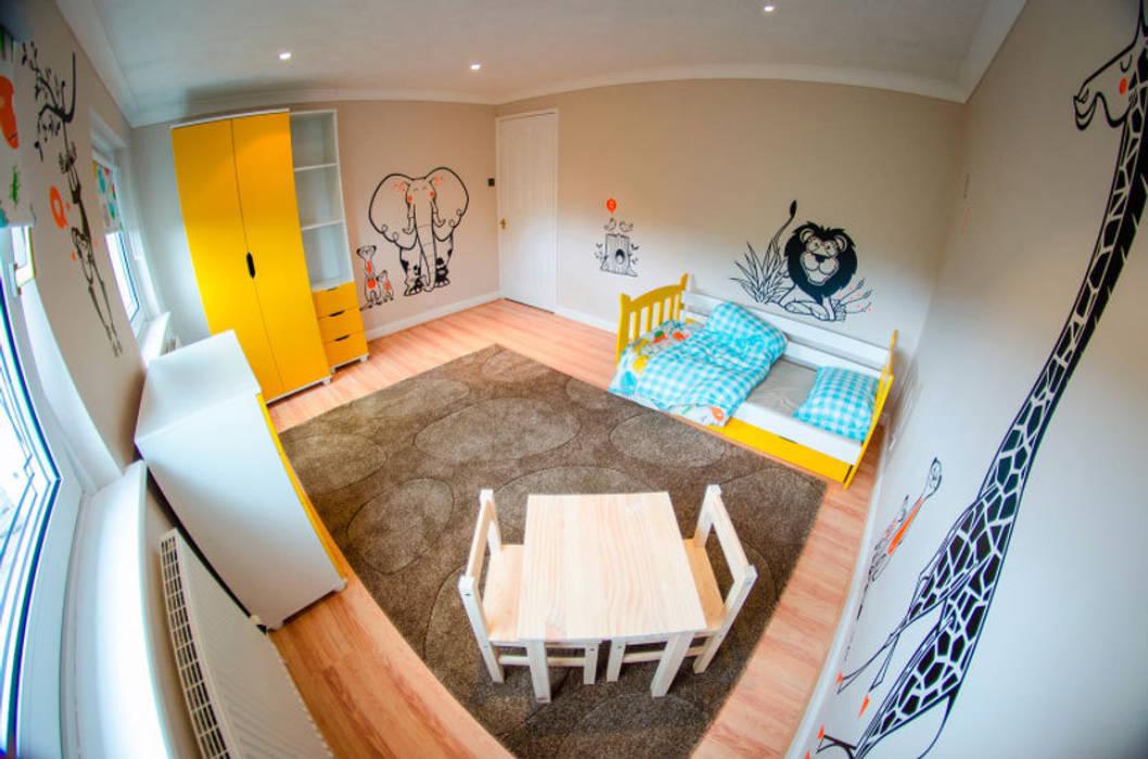 kit savane de stickers pour chambre enfants: Chambre d'enfants de style  par E-GLUE - Stickers Muraux et Papier-Peints Enfants