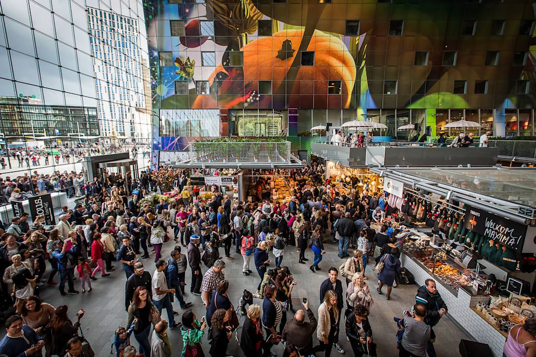 Markthal Rotterdam 根據 MVRDV