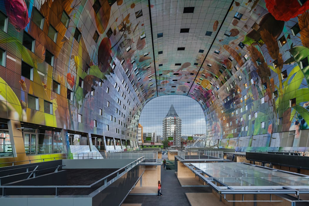 Markthal Rotterdam Interior design by MVRDV