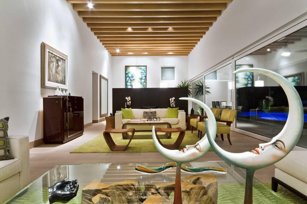 Detalles interiores Salas multimedia modernas de ARQUIPLAN Moderno