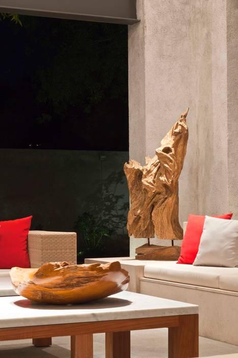 Detalles Interiores Salones modernos de ARQUIPLAN Moderno Madera Acabado en madera