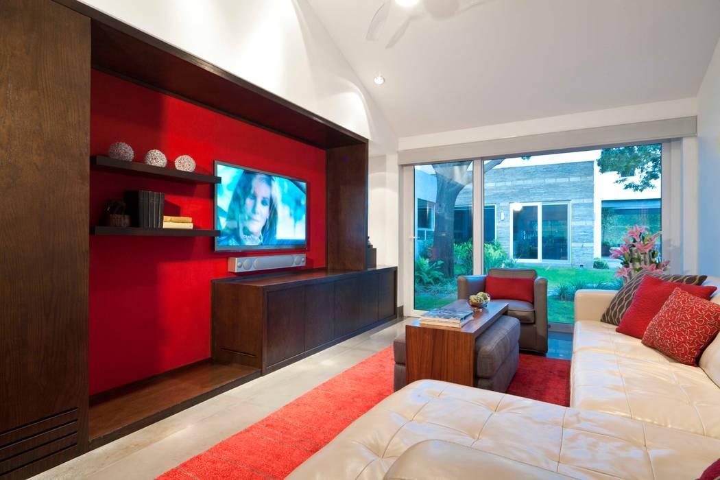 Sala principal Salones modernos de ARQUIPLAN Moderno