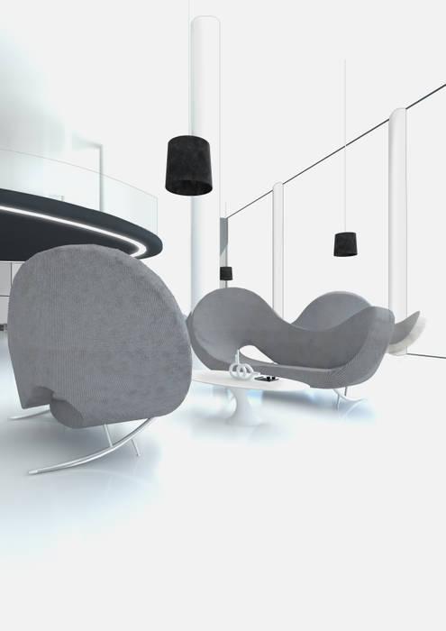 RELAX AREA FRANCESCO GENNARO Interior Design Hotel in stile minimalista