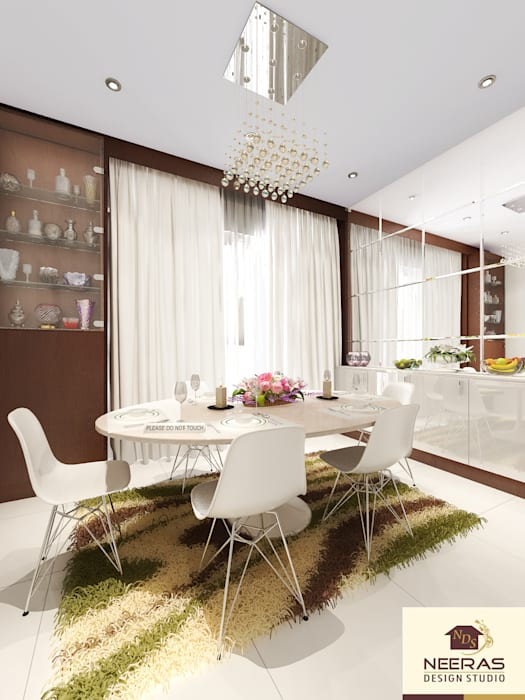 Neeras Dining Dining room by homify