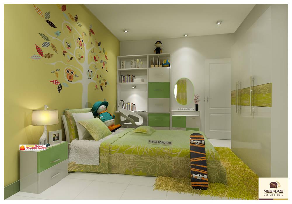 Neeras Kids Room:  Nursery/kid's room by Neeras Design Studio