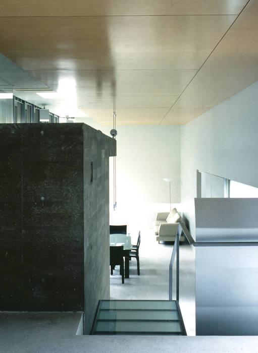 リビングダイニングルームの様子 モダンデザインの リビング の JWA,Jun Watanabe & Associates モダン