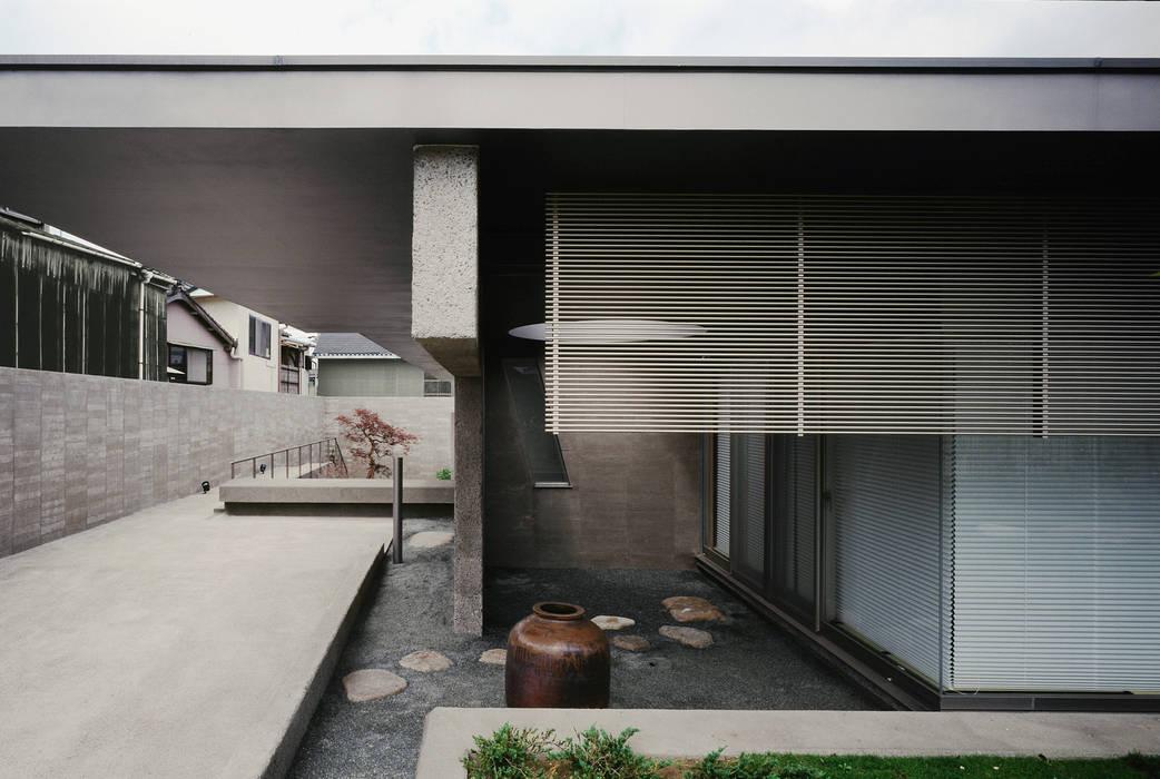 外観 モダンデザインの リビング の JWA,Jun Watanabe & Associates モダン