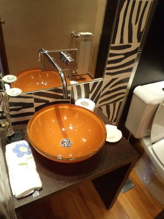 Interiorismo Zen Baños modernos de LEBEL Moderno
