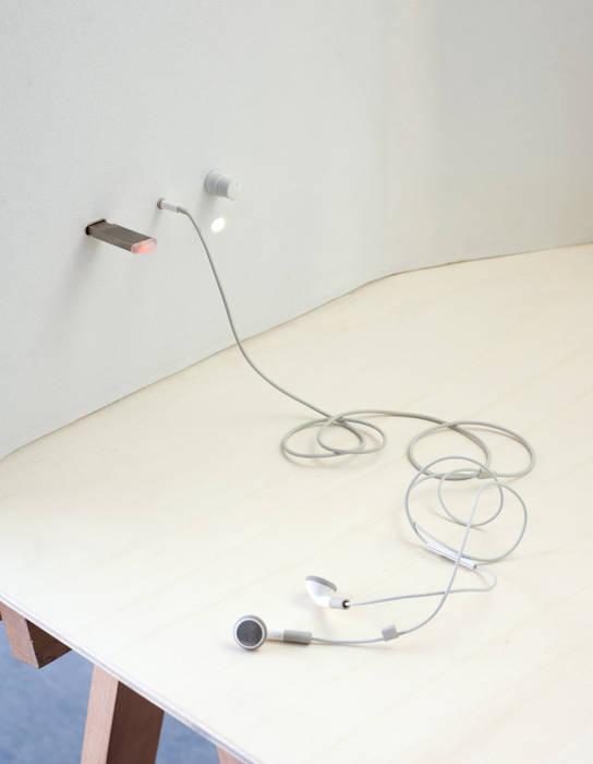 Alcôve - Details: Bureau de style de style Minimaliste par Hadrien Fouin