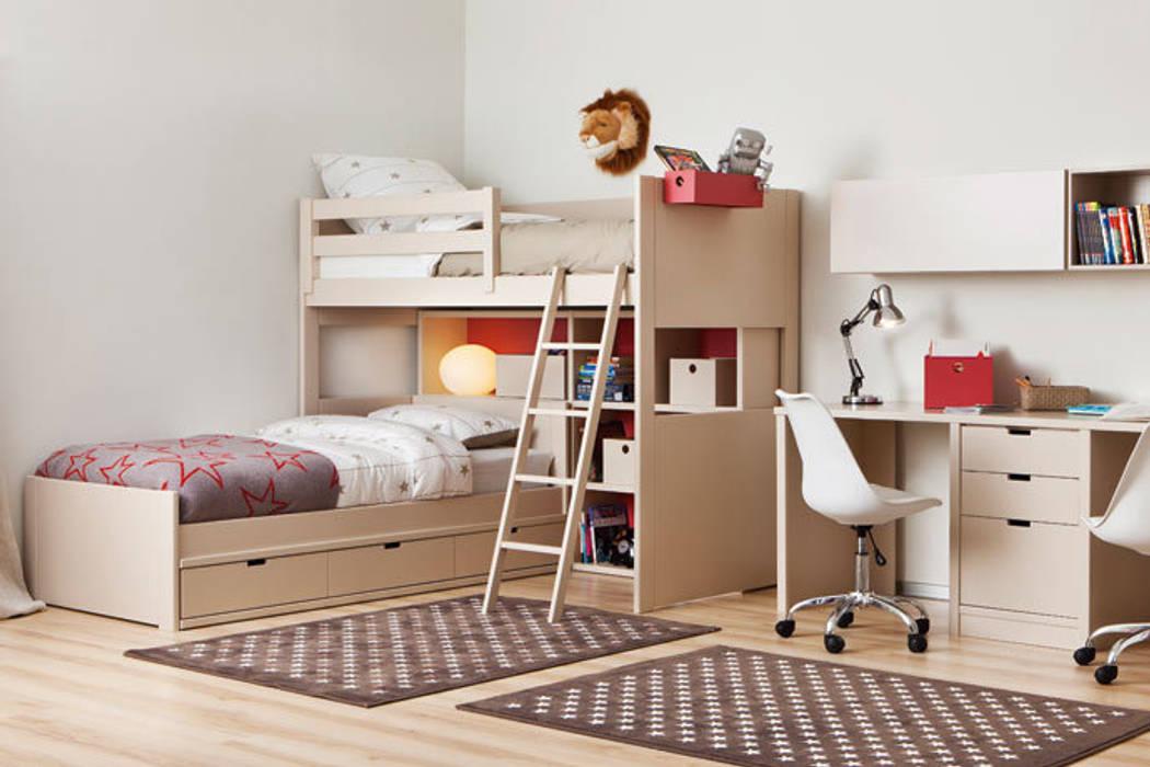 Habitación infantil en tonos neutros : Habitaciones de niños de estilo  de Sofás Camas Cruces