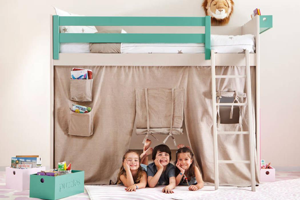 Nursery/kid's room by Sofás Camas Cruces, Modern