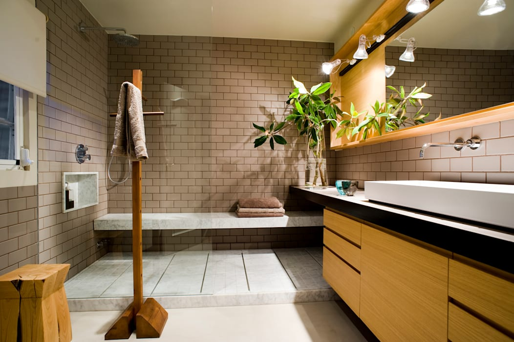 Bathroom by BONBA studio
