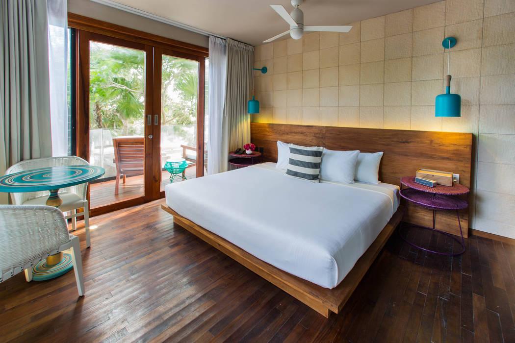 Hotel Mi Amor: Hoteles de estilo  por Natural Urbano, Moderno