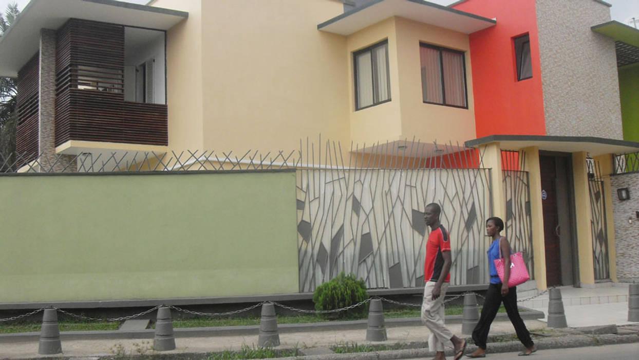 rapport a la rue Maisons tropicales par Jules Bertrand Wokam / WDW Tropical