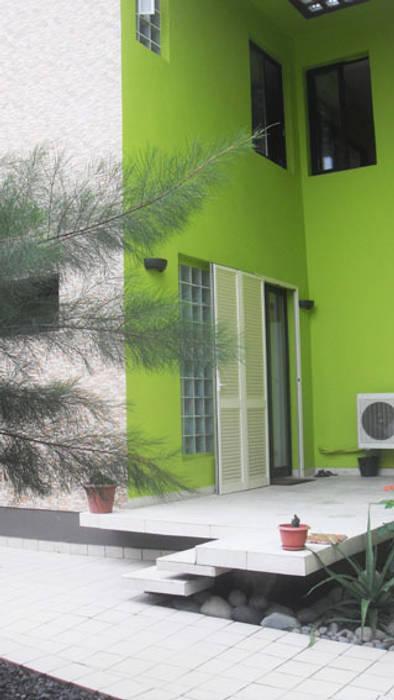 patio cuisine Maisons tropicales par Jules Bertrand Wokam / WDW Tropical