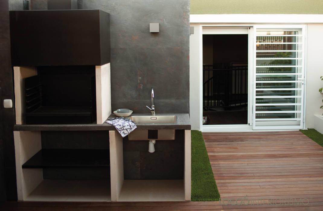 Terraza De Diseño En Catarroja Valencia Balcones Y Terrazas