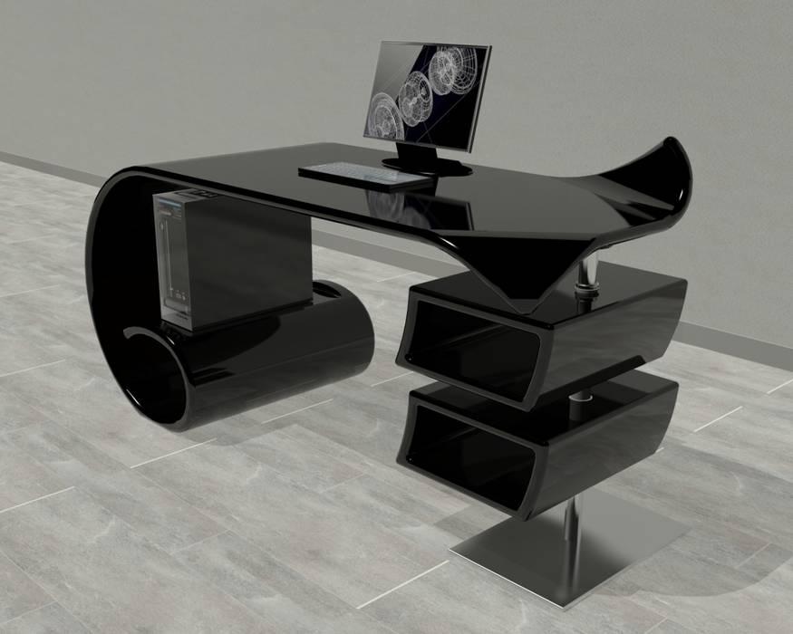 Scrivania Moderna Design : Scrivania waves studio in stile in stile moderno di b g design