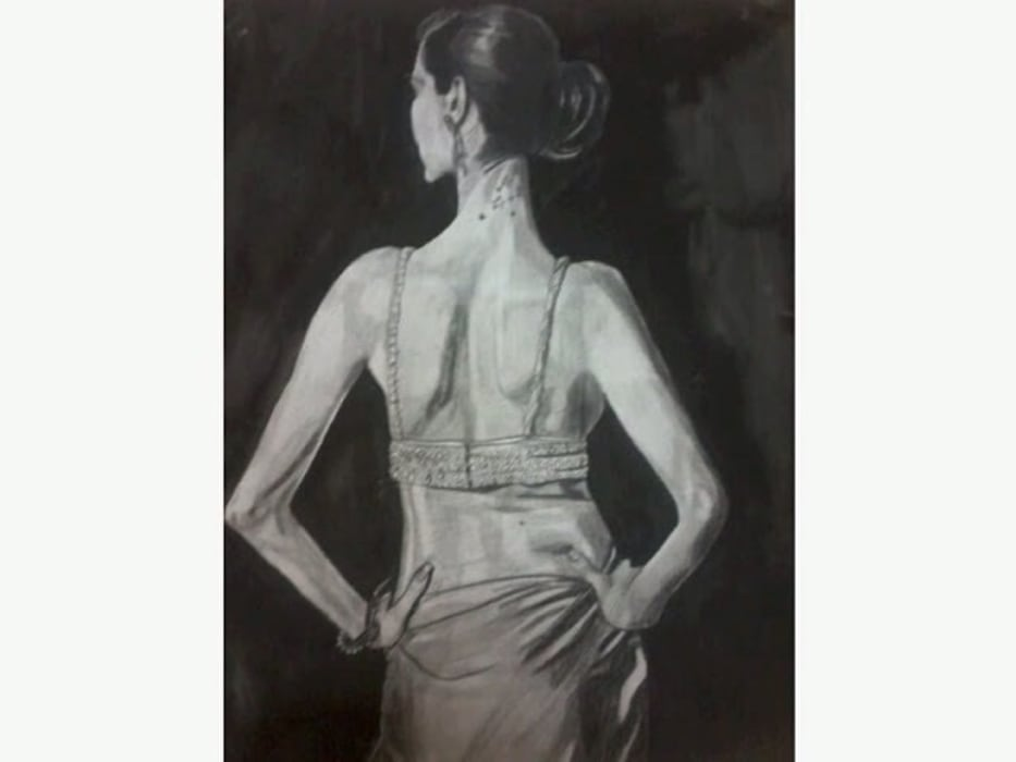 Charcoal and pencil art works for colonial style interiors: colonial  by SHEEVIA  INTERIOR CONCEPTS,Colonial
