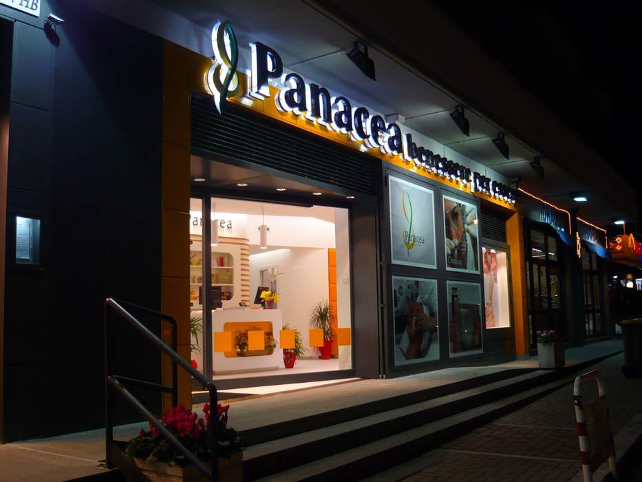 Panacea: Spa in stile in stile Moderno di Studio Stefano Pediconi