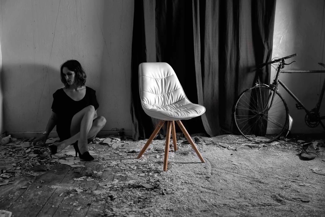 Collection de chaises scandinaves ikôn: salle à manger de style par ...