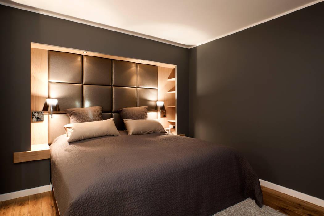Einfamilienhaus Moderne Schlafzimmer von schulz.rooms Modern