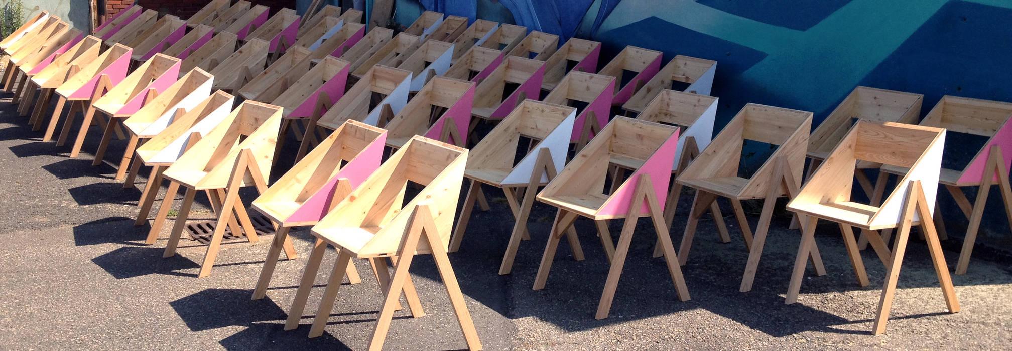 """""""Canadienne"""" chair: Maison de style  par Pierre Stadelmann"""