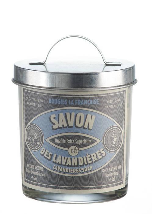 Bougie parfumée vintage savon des lavandières:  de style  par Bougies la Française, Éclectique