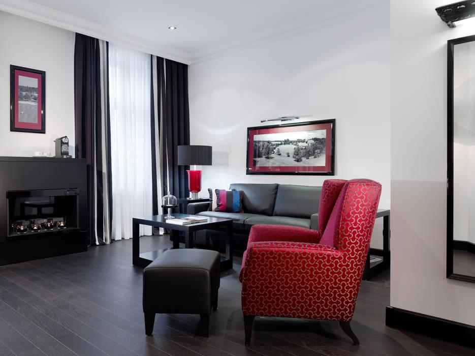 Small Leading Hotel Villa am Ruhrufer M-Moebeldesign - Interior by BOCK SchlafzimmerBetten und Kopfteile