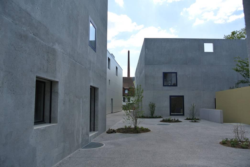 Casas de estilo moderno de raum.werk.plus. architektur + raumdesign Moderno