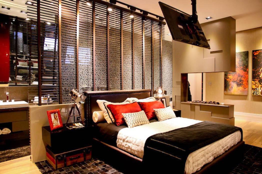 Casa Cor SC 2013 - Suíte do Filho Quartos modernos por Daniela Vieira Arquitetura Moderno