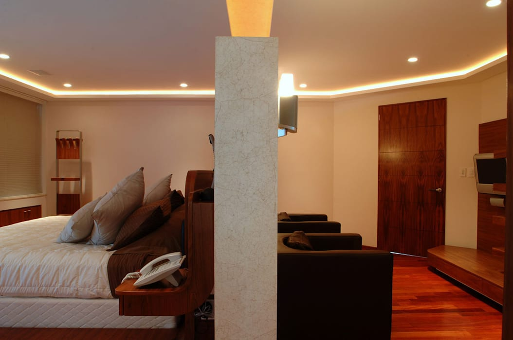 PH B Las Nubes Pasillos, vestíbulos y escaleras de ARCO Arquitectura Contemporánea