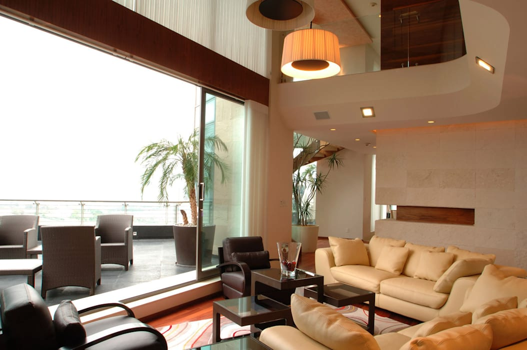 Salas de estilo por arco arquitectura contempor nea homify Estilos de arquitectura contemporanea