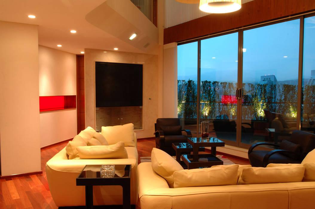PH B Las Nubes: Salas de estilo  por ARCO Arquitectura Contemporánea ,