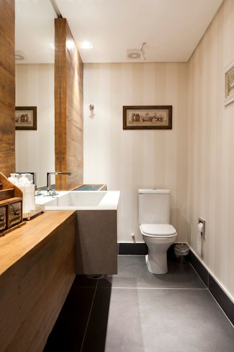 Lavabo Banheiros ecléticos por ArkDek Eclético