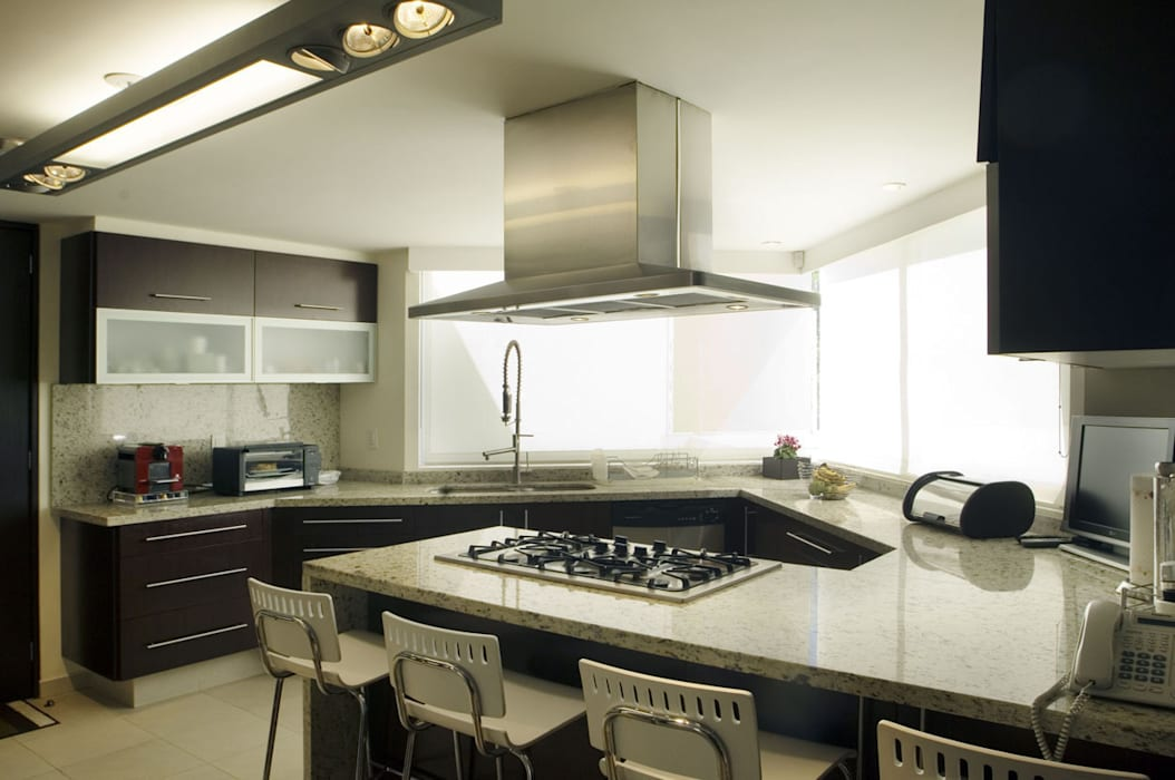 Casa sauces cocinas de estilo por arco arquitectura for Estilos de arquitectura contemporanea
