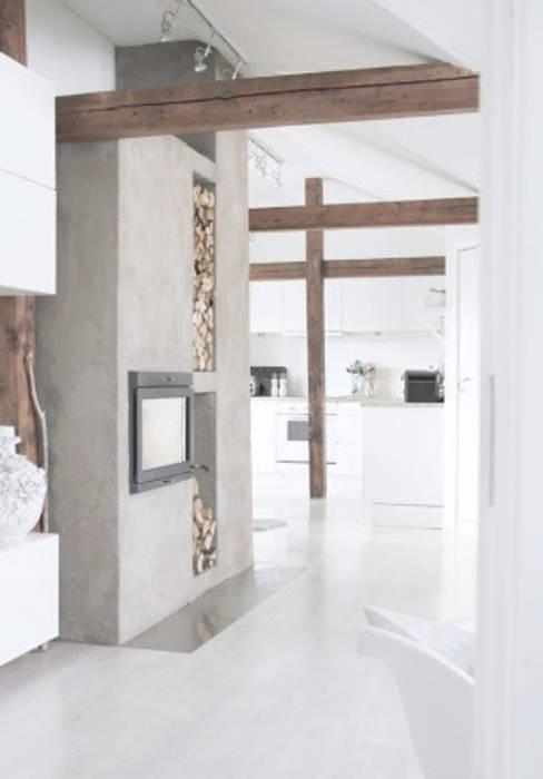 Sfeerimpressie : industriële woonkamer door livingz interieur | homify