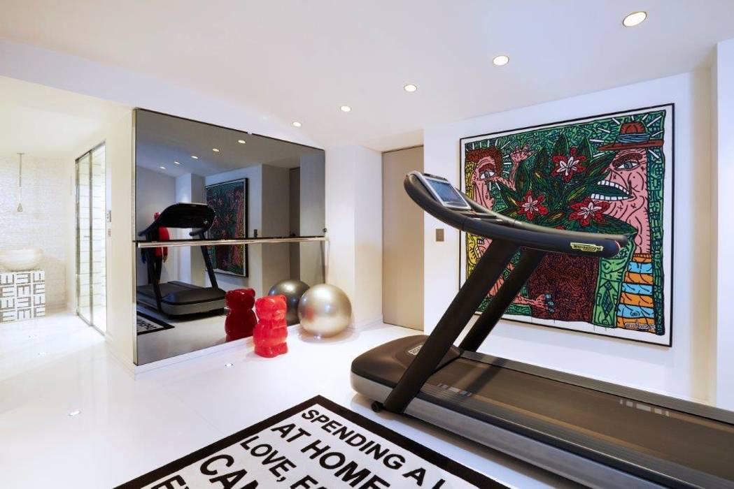 ห้องออกกำลังกาย โดย Stephanie Coutas, โมเดิร์น