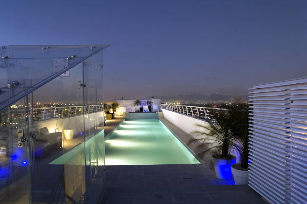 Skyview Polanco ARCO Arquitectura Contemporánea Piscinas