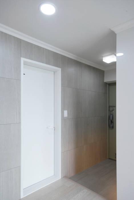 D Apartment (106sqm.) 모던스타일 발코니, 베란다 & 테라스 by By Seog Be Seog | 바이석비석 모던