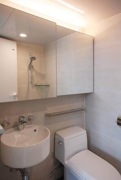 D Apartment (106sqm.) 모던스타일 욕실 by By Seog Be Seog | 바이석비석 모던