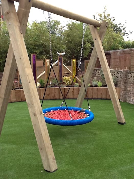 Garden playground: classic  by Timotay Playscapes, Classic