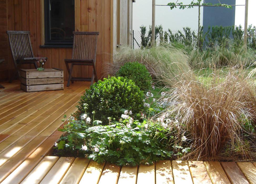Entre ciel et terre Jardin moderne par anne-mie aerts Moderne