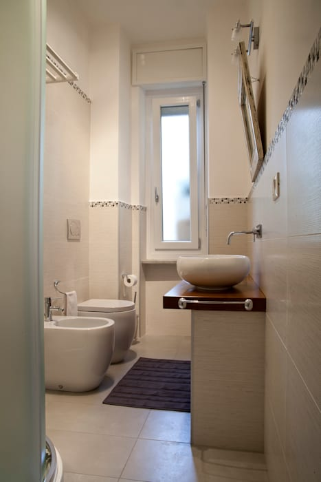 Salle de bain moderne par Alessandro Multari Ingegnere - I AM puro ingegno italiano Moderne