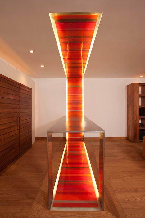 Casa HRE24: Casas de estilo  por Lopez Duplan Arquitectos,